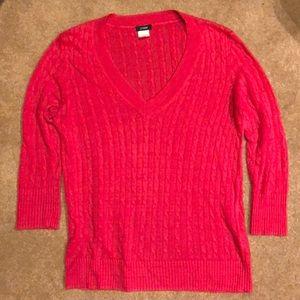 J Crew Red Sweater